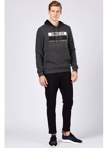 Tommy Life Sweatshirt Antrasit